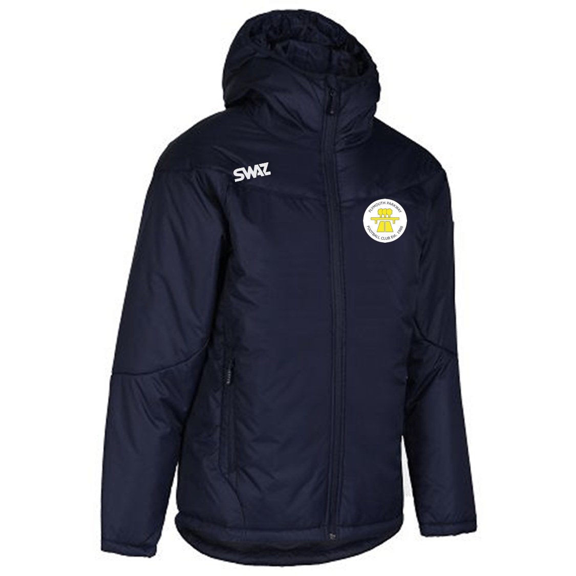 Plymouth Parkway Manager's Jacket | SWAZ Teamwear |