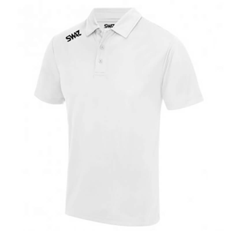SWAZ Junior League White Polo Shirt _ Football Teamwear