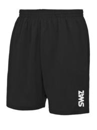 SWAZ Black Football Shorts| SWAZ Football Teamwear
