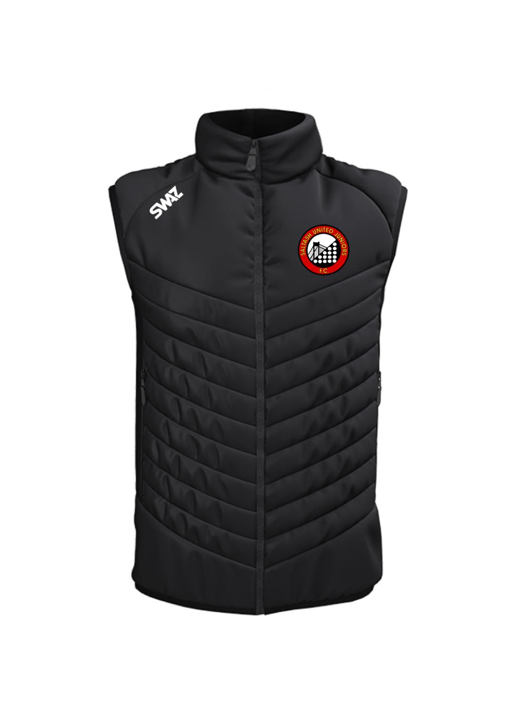 Saltash United Juniors Gilet   SWAZ Teamwear   Football Kit Supplier