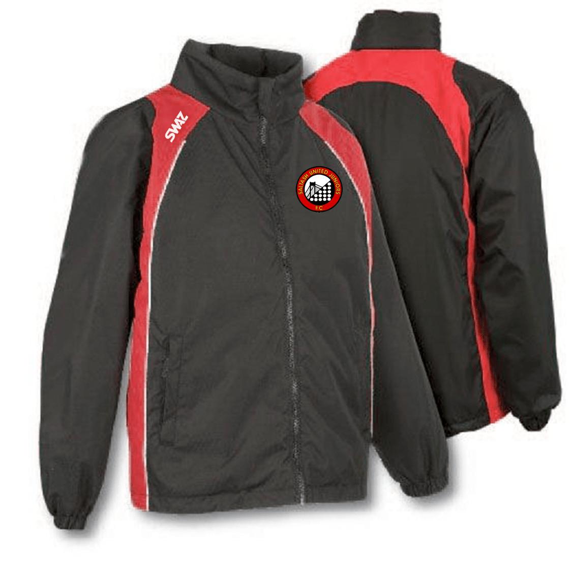 Saltash United Juniors Showerproof Jacket | SWAZ Teamwear |