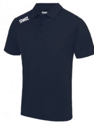 SWAZ League Navy Polo Shirt | Football Teamwear