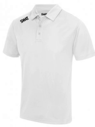 SWAZ League White Polo Shirt | Football Teamwear