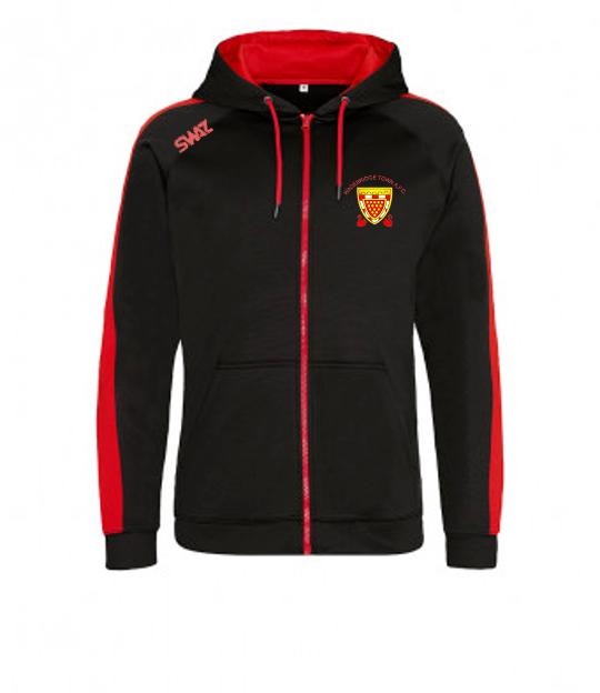 Wadebridge Town Zip Hoody   SWAZ Teamwear   Football Kit Supplier