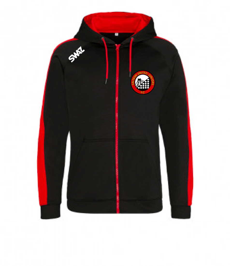 Saltash United Junior Zip Hoody | SWAZ Teamwear | Football Kit Supplier