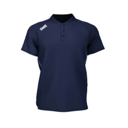 SWAZ Junior Elite Navy Polo Shirt _ Football Teamwear