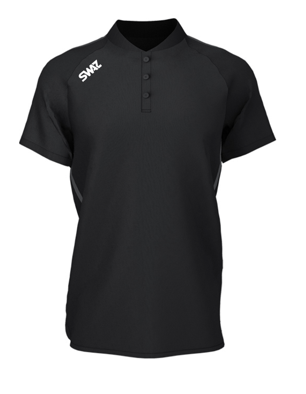 SWAZ Elite Black Polo Shirt   Football Teamwear