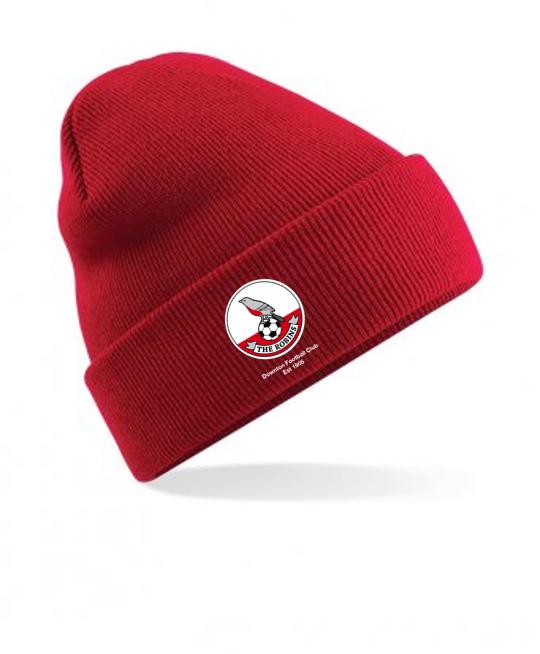 Downton FC Beanie Hat | SWAZ Teamwear | Football Kit Supplier