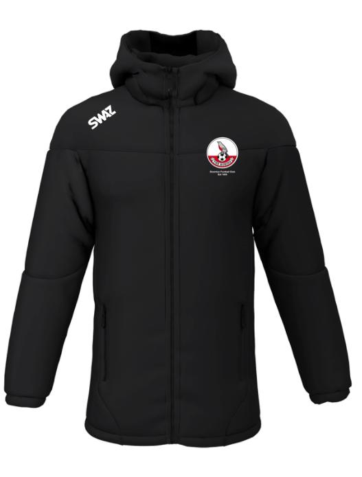 Downton FC Manager's Jacket   SWAZ Teamwear  