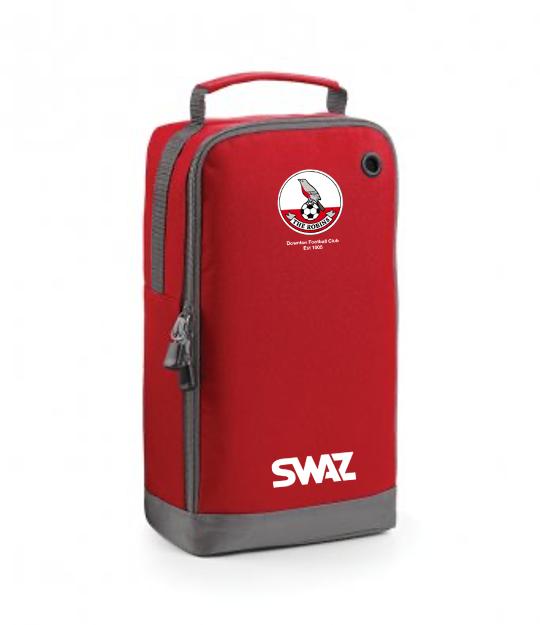 Downton FC Boot Bag   SWAZ Teamwear   Football Kit Supplier