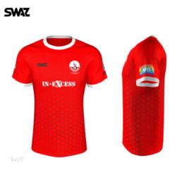 SWAZ Custom football shirt | Downton FC Home Kit | SWAZ Football